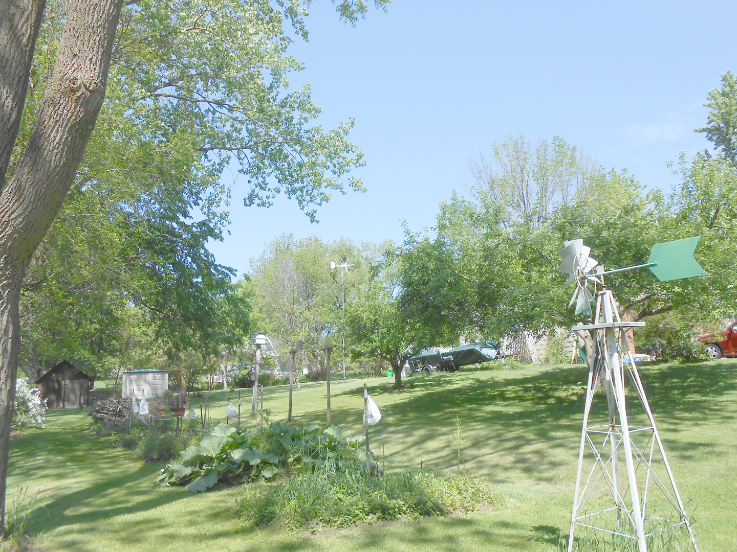 Wind Turbine Installation Instructions Generator 3 Phase Wiring Diagram Get Free Image About The Surrounding Trees And It Does Not Up To Full Speeds Is In Center Of This Photo Hard Spot One On Right